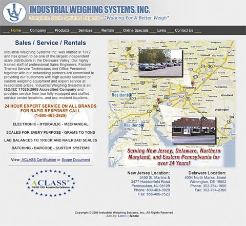 Industrial Scales and Weighing Systems Industrial Weighing Systems - Delaware, Maryland, New Jersey, New York, Pennsylvania Areas