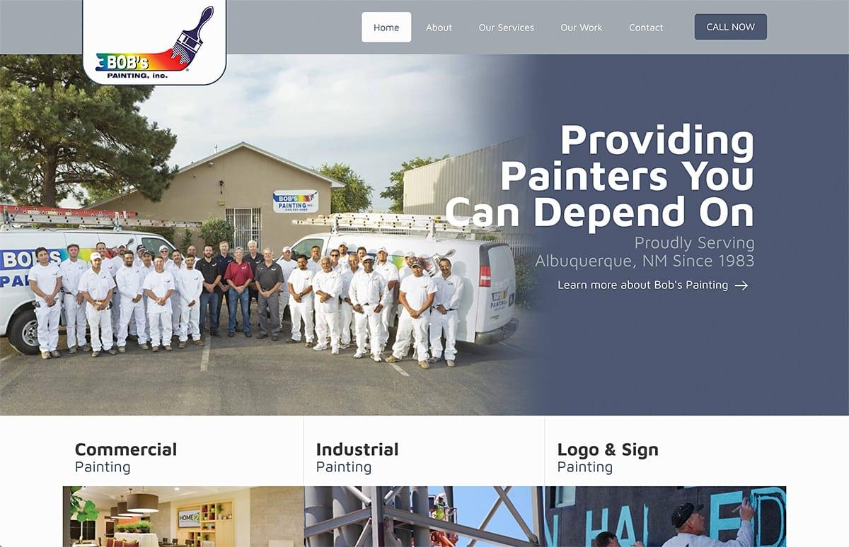 Bobs Painting - Website SEO | Social Media