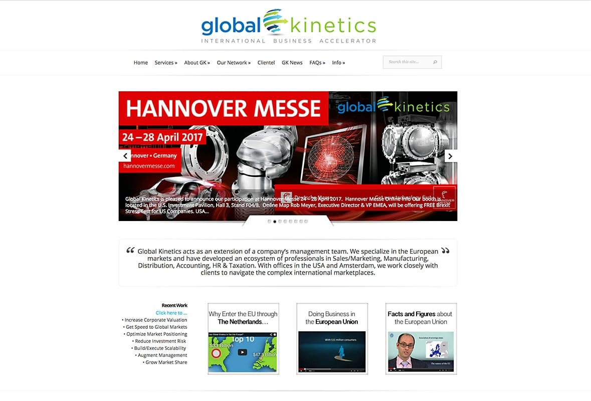Global Kinetics - Website Design | Maintenance | Hosting
