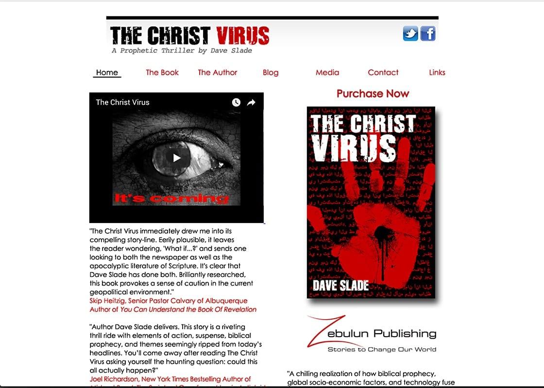 The Christ Virus - Website Design | Hosting