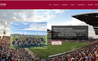 Congratulations Rio Rapids Soccer Club – On Your New Website!