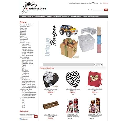 aspecialtybox.com Client Profile