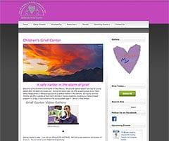 Web Design Children's Grief Center