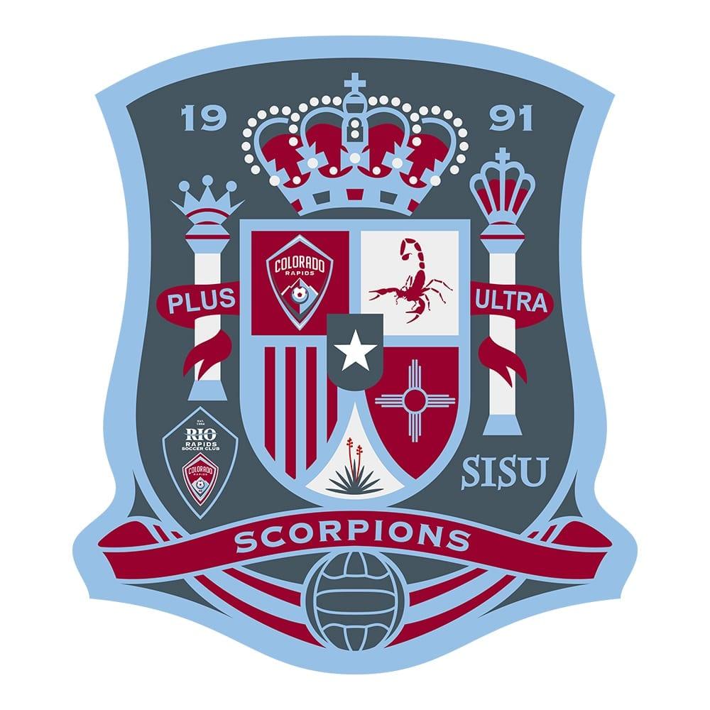 Logo Design Samples 23 LionSky Logo RRSC Scorpions Spain Logo 1