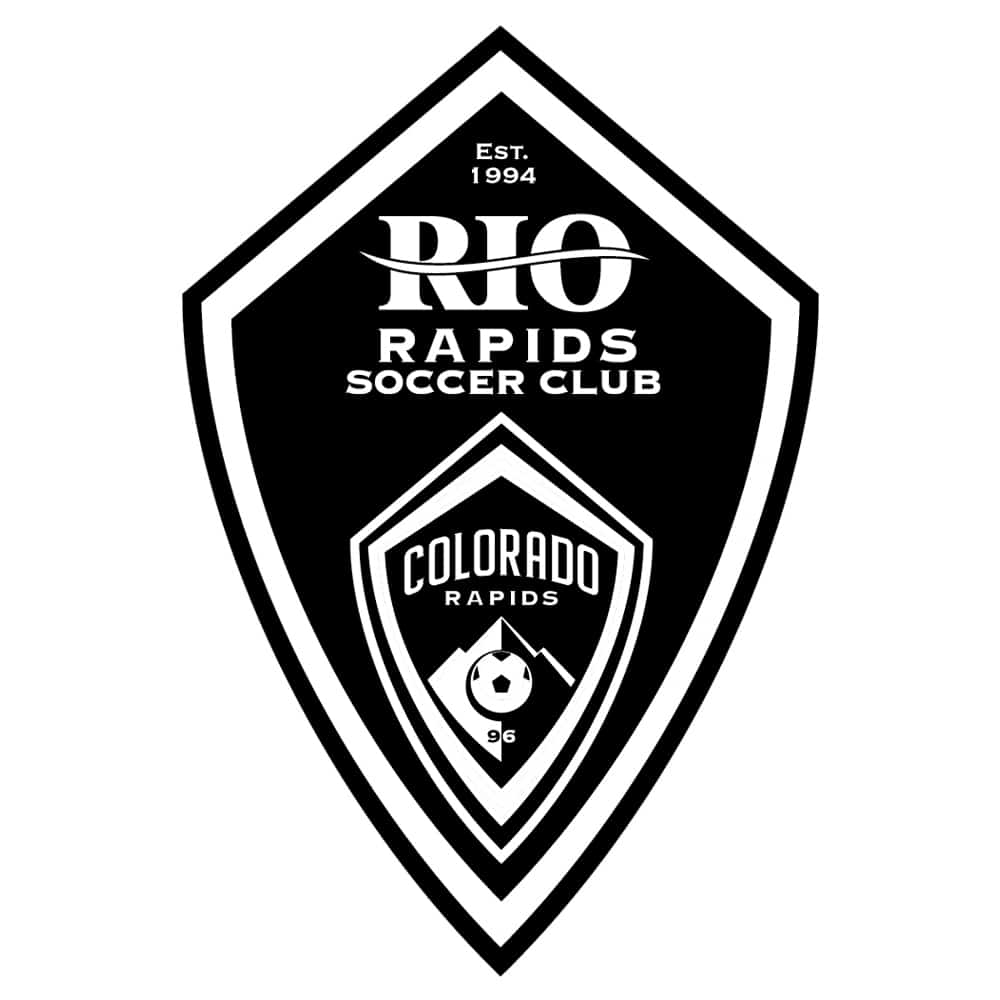Rio Rapids Soccer Club - Black and White