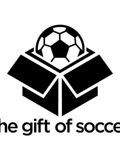 The Gift of Soccer  - Black and White