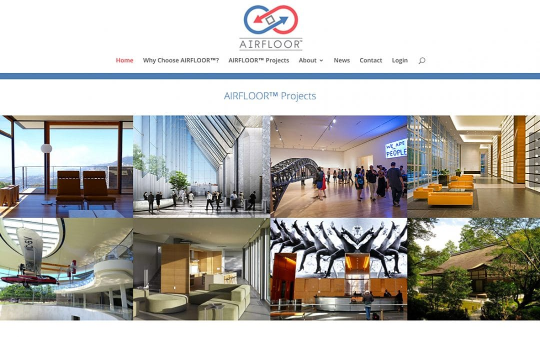 Congratulations Airfloor on Your New Website!