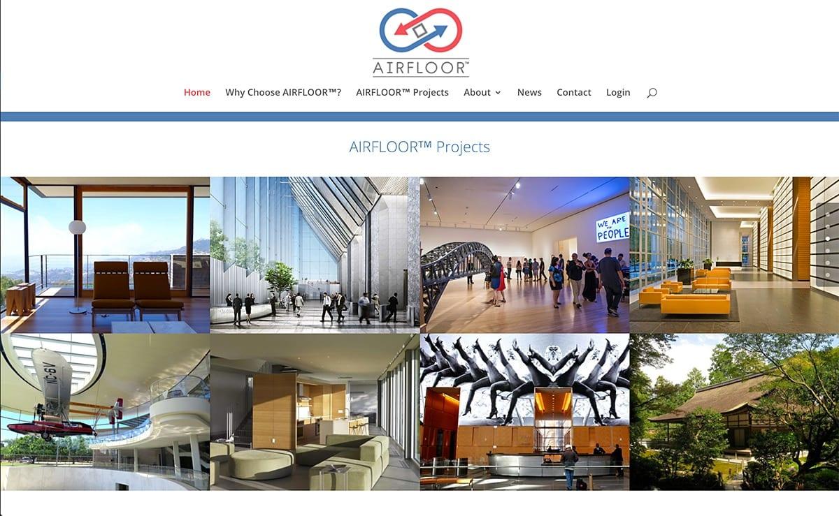 Website SEO Examples 6 LionSky Websites SEO AirFloor
