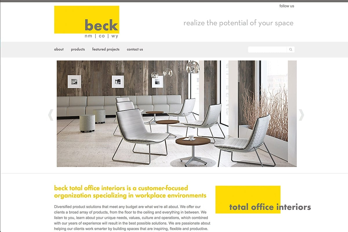 Beck TOI - Website Maintenance | SEO | Social Media
