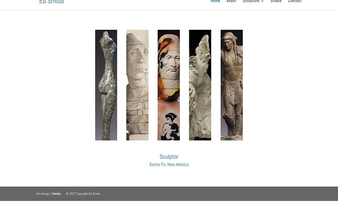 Santa Fe Sculptor – Ed Smida Launches New Website