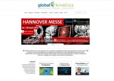 Global Kinetics - Website Design | Maintenance | Hosting