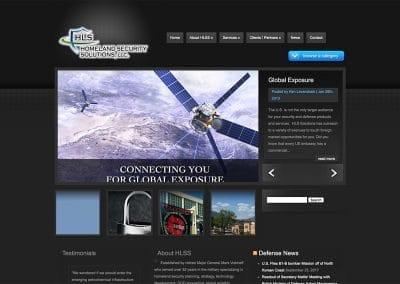 Homeland Security  - Website Design | Hosting