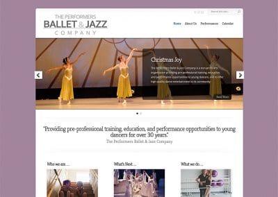 NM Ballet Jazz - Website Design | Hosting