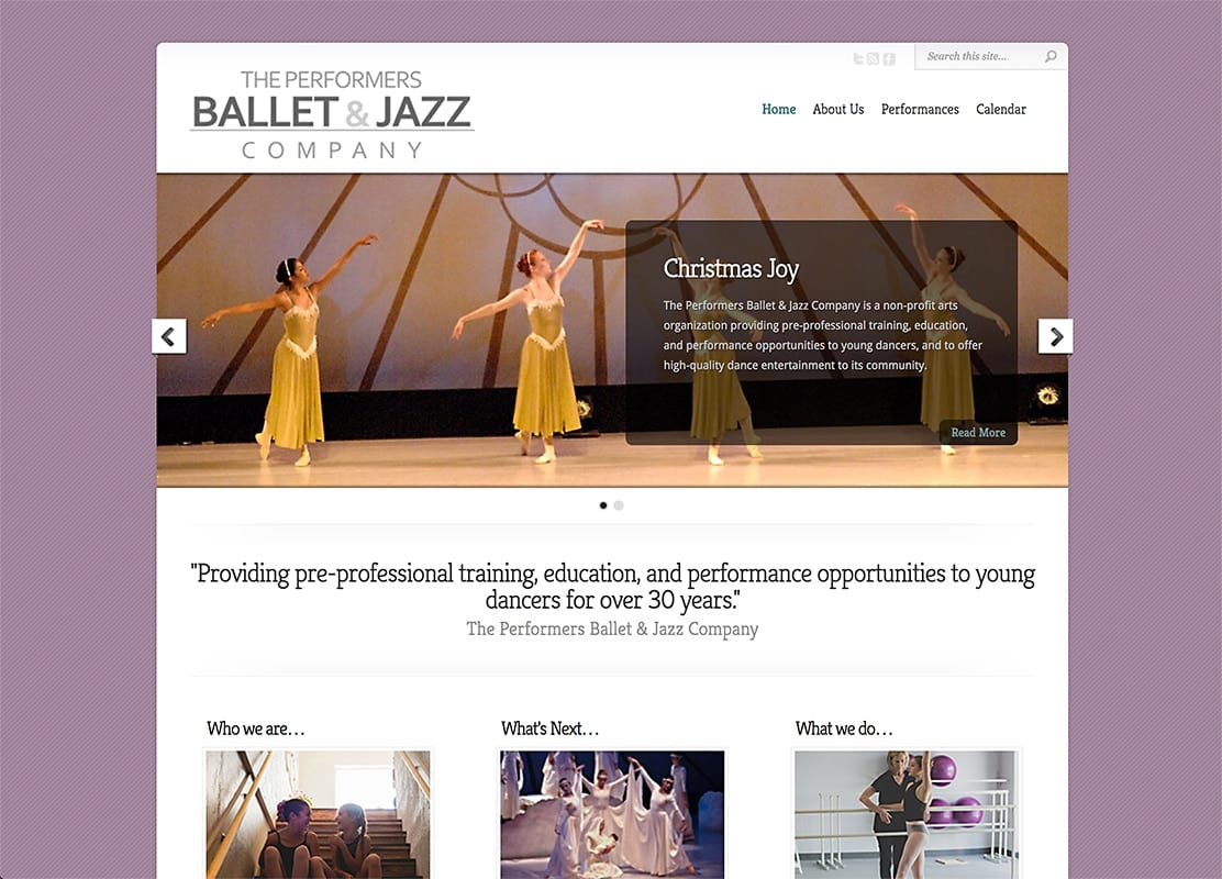 NM Ballet Jazz - Website Design | Hosting