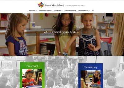 Sunset Mesa School - Website Design | Maintenance | Hosting | SEO