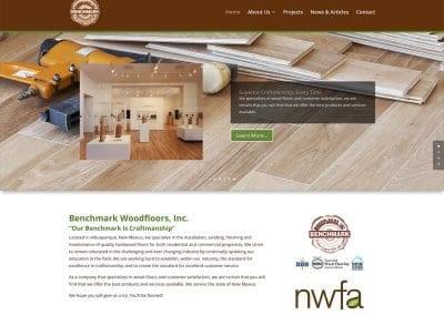 Benchmark Woodfloors - Website Design | Maintenance | Hosting | SEO