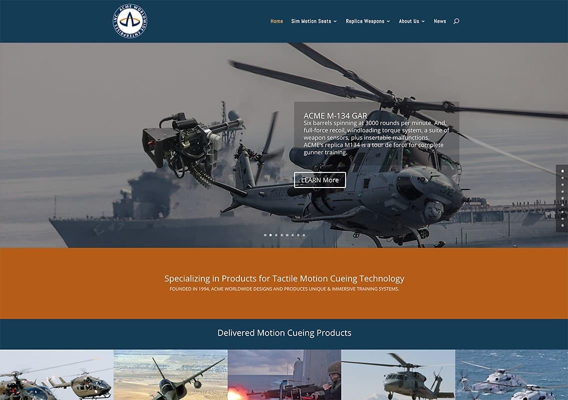 Website Designs 35 LionSky Websites ACME Worldwide