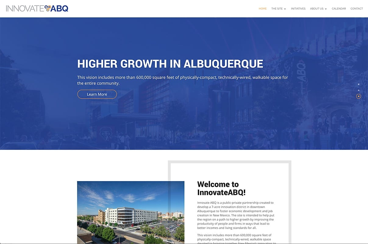 Innovate ABQ - Website Design | Maintenance | Hosting