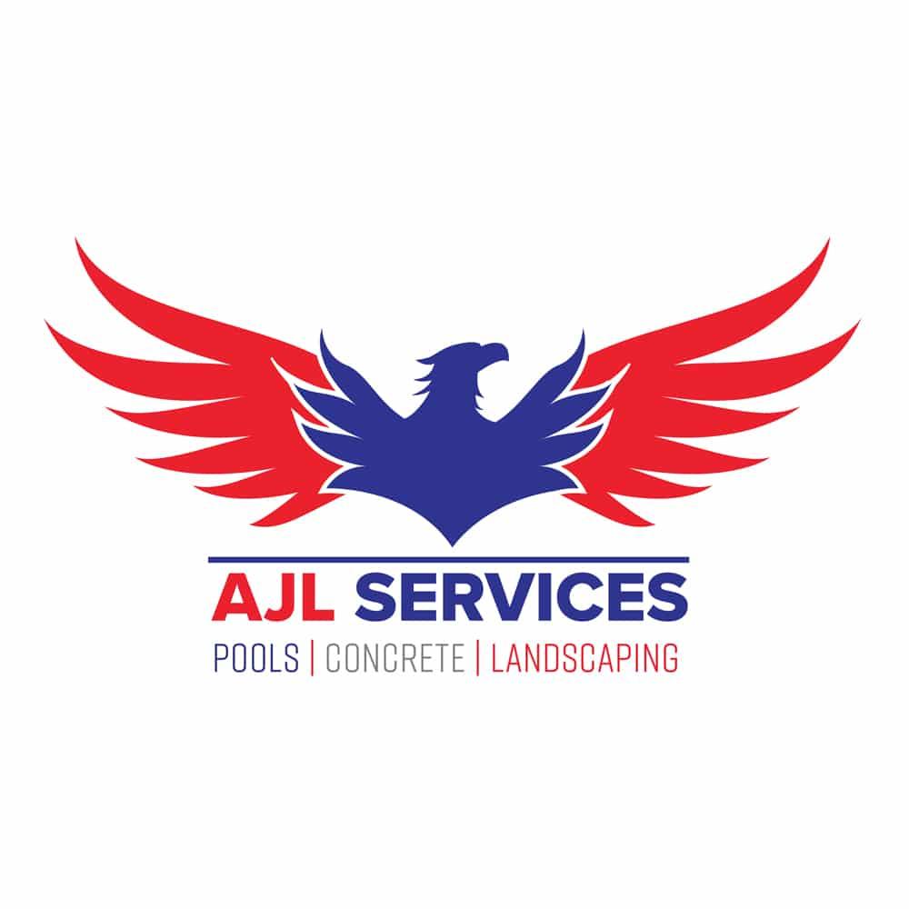 Branding & Logo Design 12 LionSky AJL Services Logo