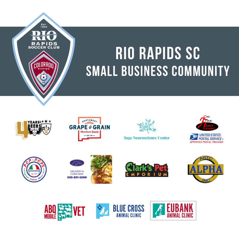 Rio Rapids Small Business Community LIonSky Social Media Graphic