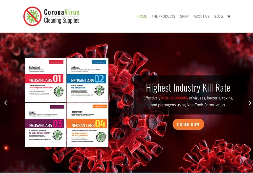 Website Designs 30 CoronavirusCleaningSupplies2 1024x705 1