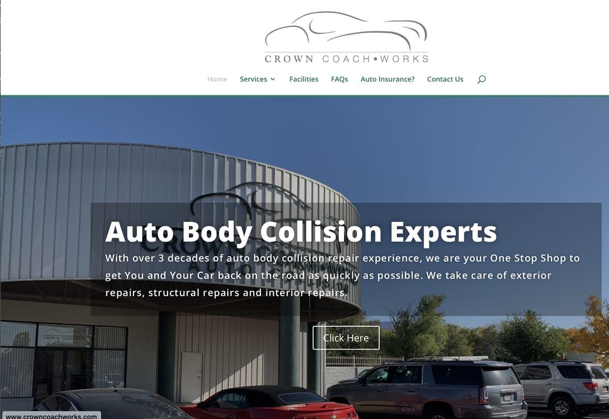 Website Designs 23 CrownCoachworksWebsiteSnap