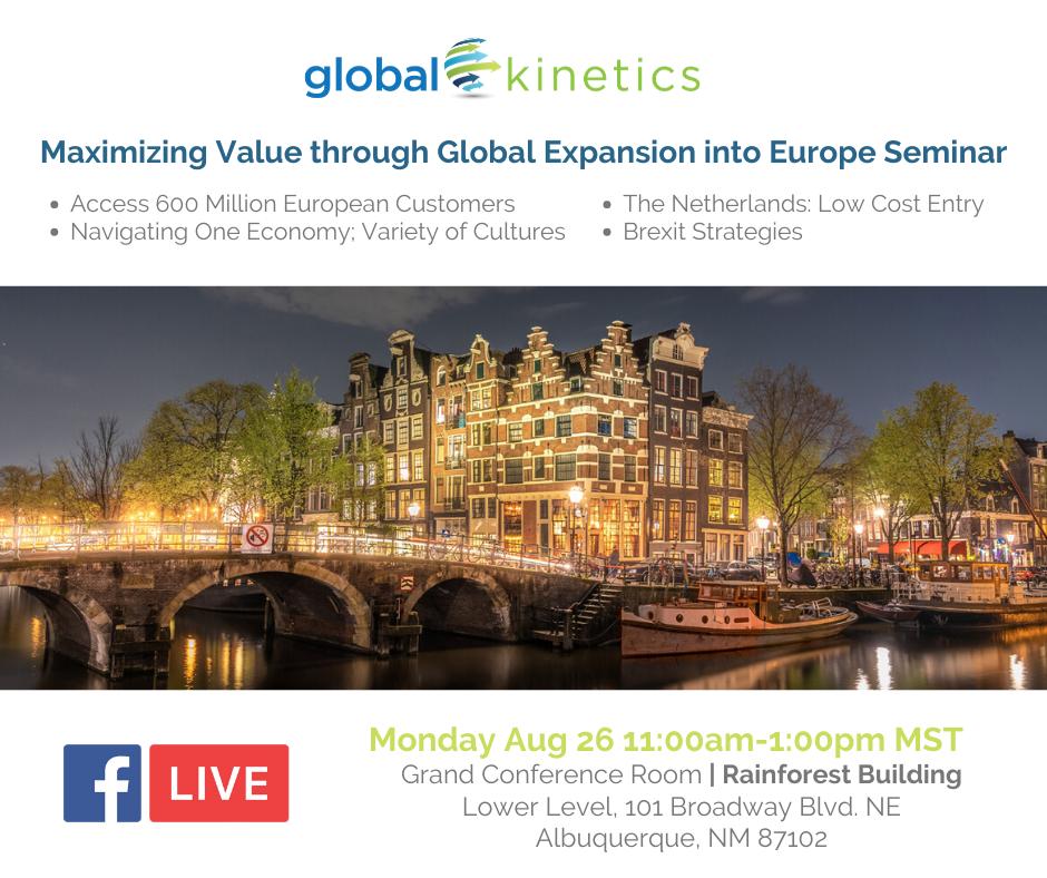 Global Kinetics Event LIonSky Social Media Graphic