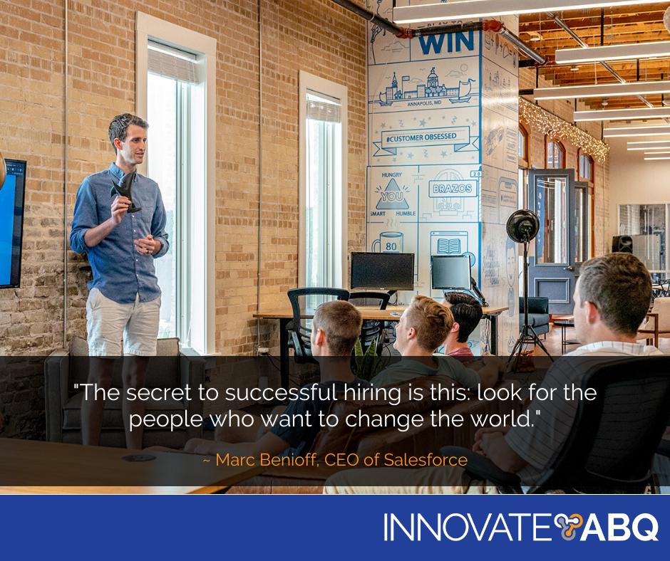 Innovate ABQ Motivation Monday LIonSky Social Media Graphic