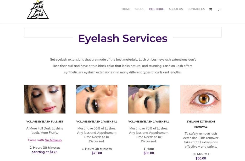 Lash on Lash – Albuquerque – Website Launch!