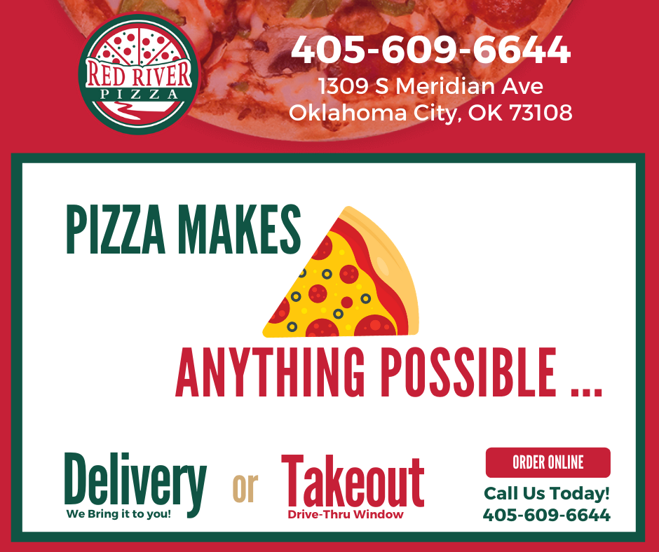 Red River Pizza April Quote LIonSky Social Media Graphic