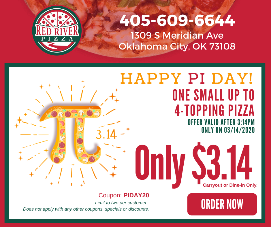 Red River Pizza LIonSky Social Media Graphic