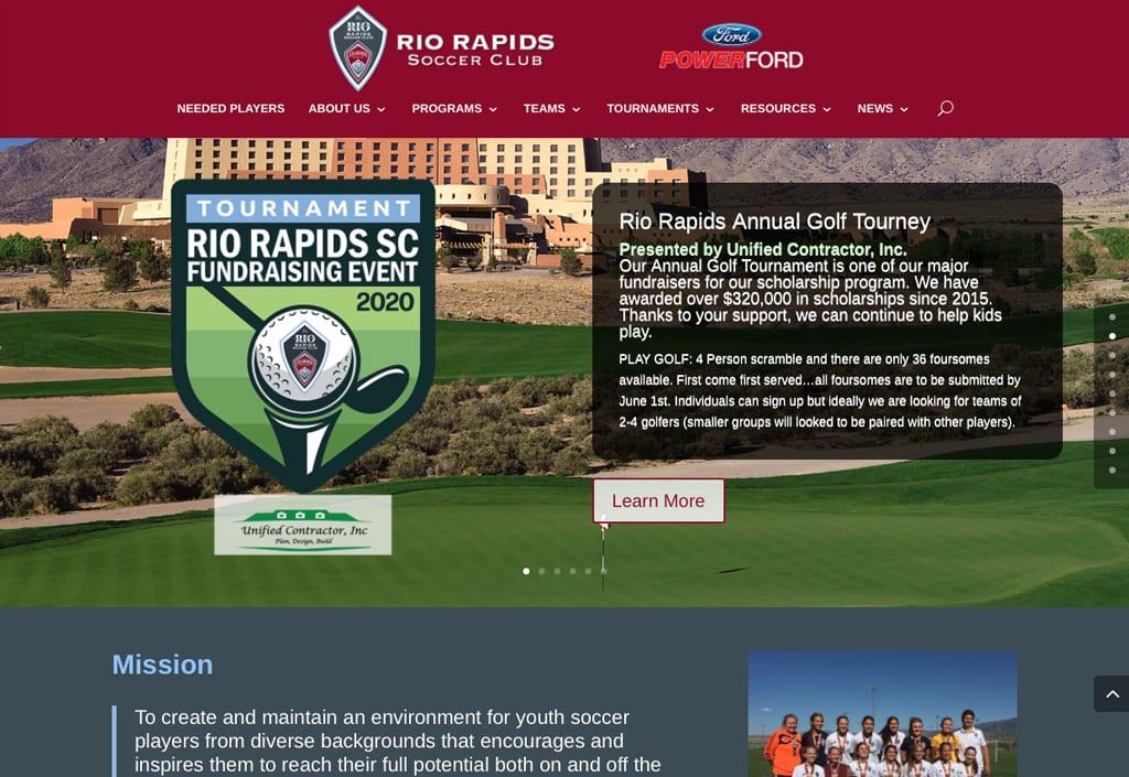 Website Designs 38 Rio Rapids 2 1024x705 1