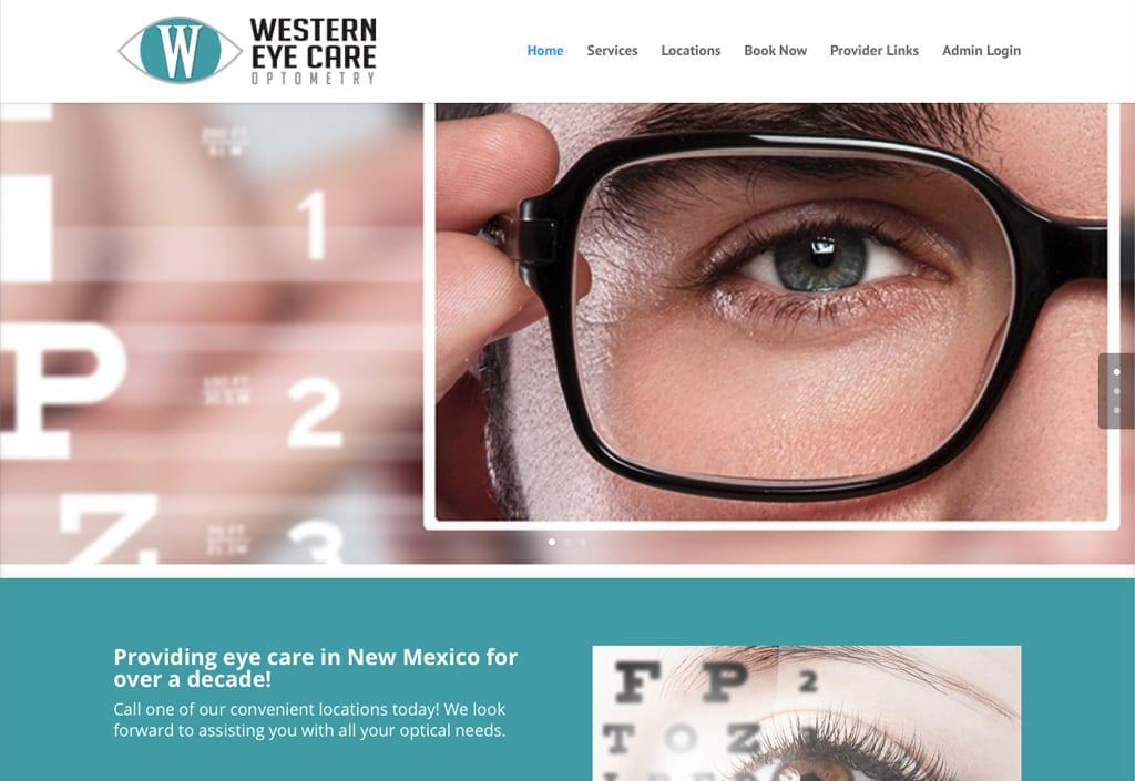 Website Designs 17 Western Eyecare 1024x705 1