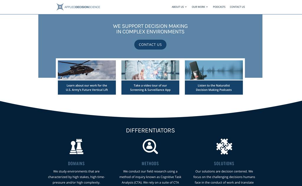 Client Websites 4 Applied Science Design Website Snap 1024x631 1