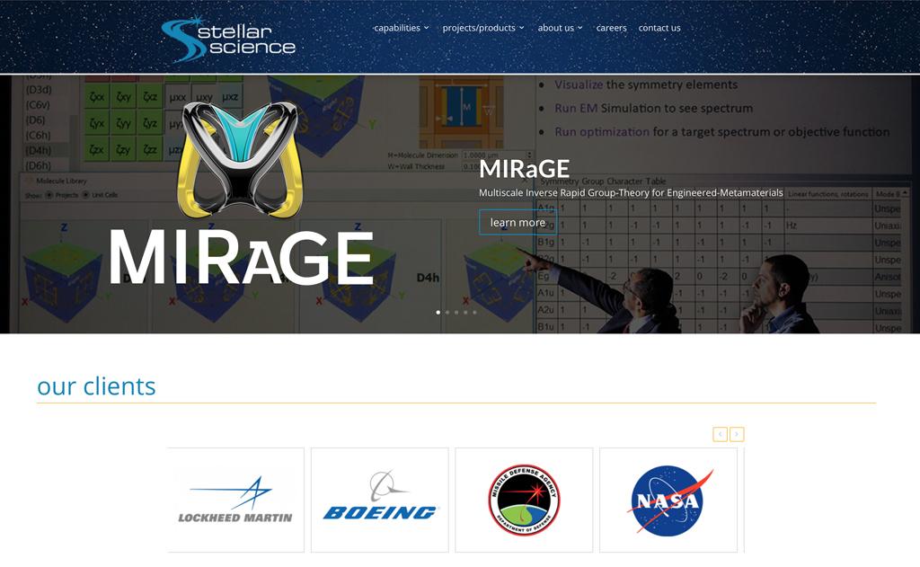 Client Websites 3 Stellar Science Website Snap 1024x631 1