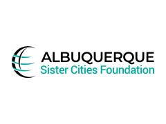 Albuquerque Sister Cities Foundation Logo on White BG 240x180